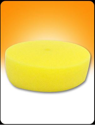 """Picture of 3.5"""" YELLOW CURVED FOAM PAD"""