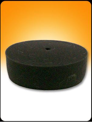 "Picture of 3.5"" BLACK CURVED FOAM PAD"