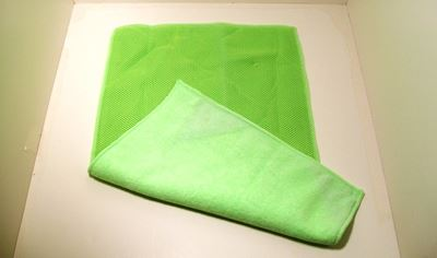 Picture of 2 IN 1 PLUSH MICROFIBER TOWEL