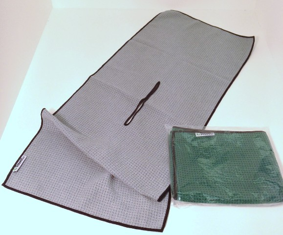 Golf Towel With Center Cut Hole Professional Detailing