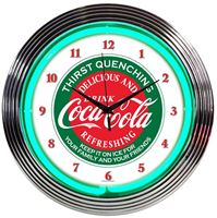 Picture of Coca-Cola Evergreen Neon Clock