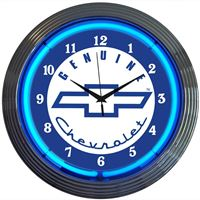 Picture of GM Genuine Chevrolet Neon Clock