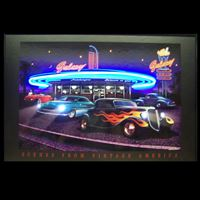 Picture of Galaxy Diner Neon/LED Picture