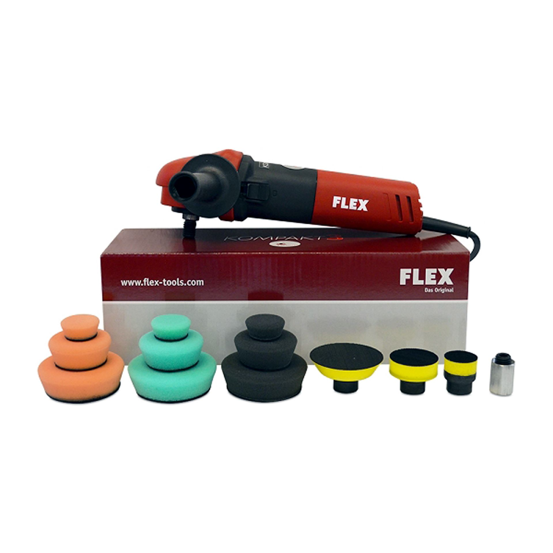Kompact3 3 rotary polisher kit pe8 480kit professional detailing products because your car is for Professional car interior detailing kit