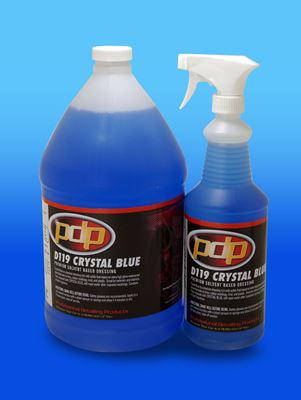 Crystal Blue Professional Detailing Products Because