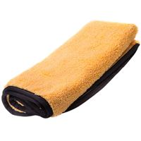 "Picture of 25"" x 36"" ORANGE HEMMED MICROFIBER TOWEL"