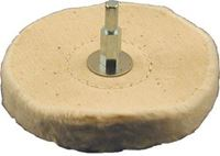 Picture of Mounted Loose Cotton Buffing Wheel