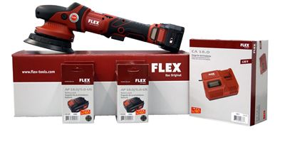 Picture of FLEX XFE15 150 Cordless Orbital Polisher