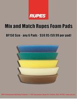 Picture of Rupes 15mm Foam 6 Pack