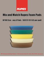 Picture of Rupes 21mm Foam 6 Pack
