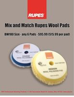 Picture of Rupes 21mm Wool 6 Pack