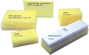 Picture for category YELLOW SCRUBBERS